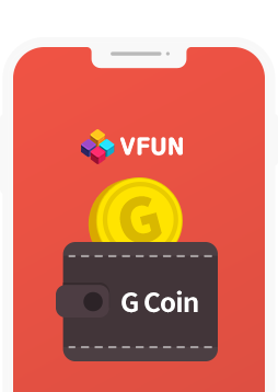 Buy easily and comfortably<br>Items wanted with G Coin.