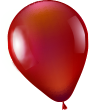 red balloon deco in Left 2